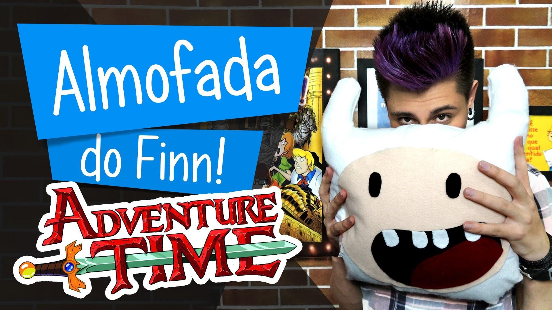 Almofada do Finn - Hora de Aventura DIY