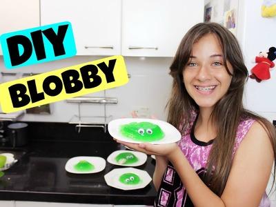 DIY - Blobby de Gelatina com Carol Santina