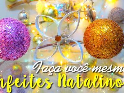 DIY: Enfeites de Natal feitos em casa Por Lorena Lima