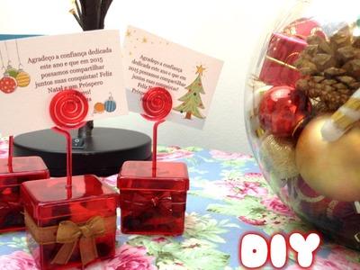 DIY (faça você mesmo) - Caixinhas de lembrancinhas para o natal e datas comemorativas