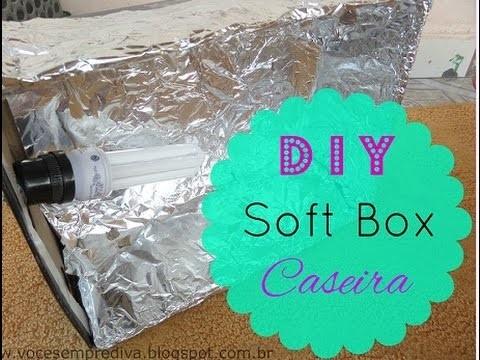 DIY - Soft Box Caseira (Melhore a iluminação dos seus Vídeos )