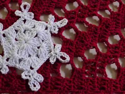Aplique Floco de neve natalino