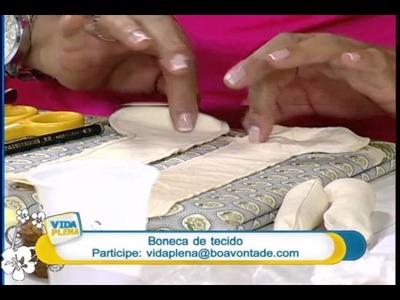 Artesanato - Boneca de tecido (Parte 1)
