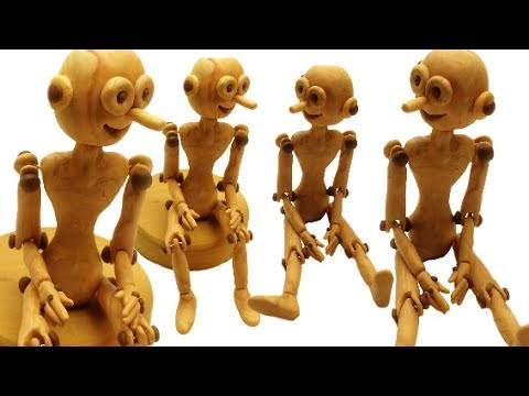 Articulated figurine.boneco articulado- Polymer clay tutorial(Fimo)