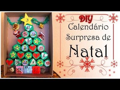 DIY: Calendário Natalino Surpresa #vlogmas