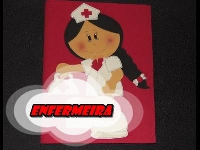 DIY.: Enfermeira - E.V.A art