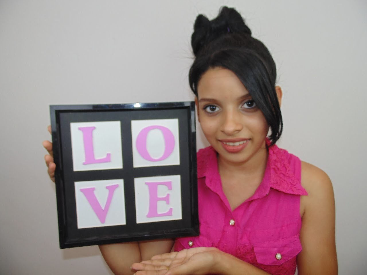 DIY:Quadro LOVE. Grupo Look Perfeito