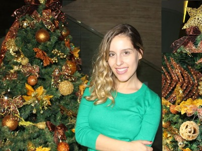 É Natal!!   DIY laços + Montando a árvore!