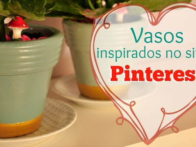 PINTURA EM VASO DE CERÂMICA DIY | #POCFazendoArte Ep. 29