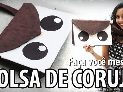 DIY: Bolsa de Bichinho VOLTA AS AULAS