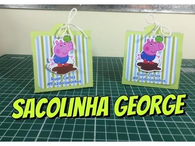 DIY | Como fazer Sacolinha George Pig