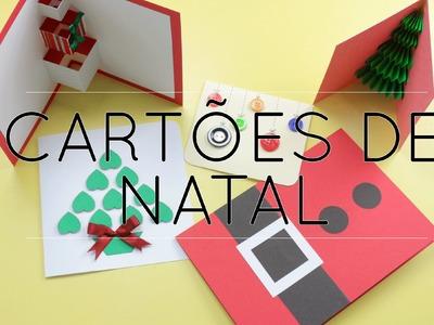 Cartões de Natal [Simples e fáceis]