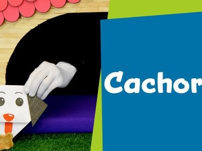 Como fazer um Cachorro de Origami | Atividades Manuais para Crianças | SuperHands: Ep 13