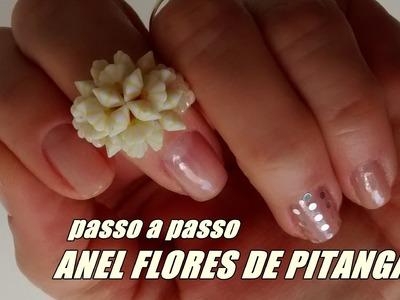 DIY: Anel flores de pitangas ♡Joana D'arc