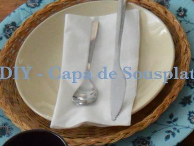 DIY - Capa de Sousplat