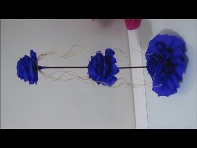DIY - Centro De Mesa Para 15 Anos, Casamento Etc