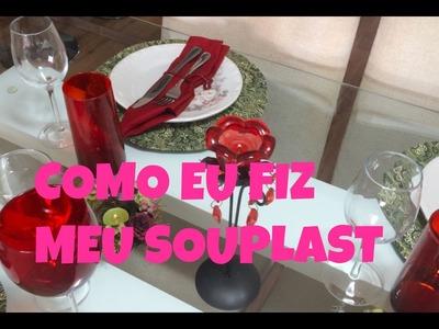 ♡♡  DIY - COMO FIZ MEU SOUSPLAT ♡♡