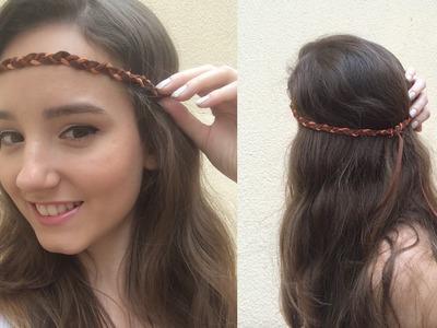 DIY | Faça sua própria Headband