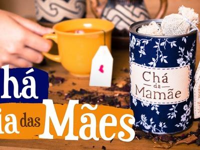 DIY - Latinha de Chá para o Dia das Mães