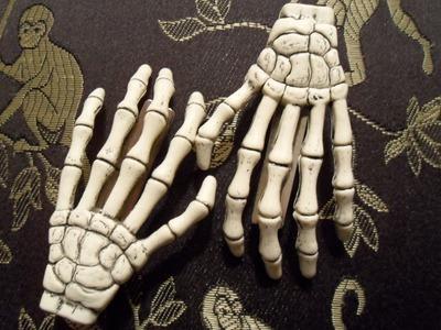 DIY -  Mão Esqueleto (Skeleton Hand)