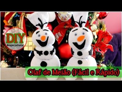 DIY: Olaf de Meião (Fácil e Rápido)