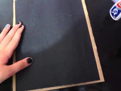 DIY Porta Retrato Fácil Reciclável (Com revista)
