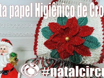 """Porta papel higiênico de Natal """"Soraia Bogossian e Professora Simone Eleotério"""""""