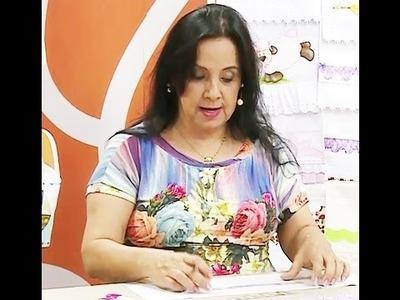 Toalhinha com as mini réguas com Deize Costa | Vitrine do Artesanato na TV