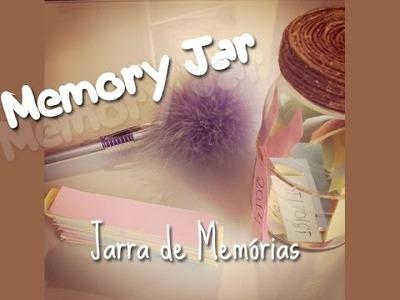DIY.Faça Você mesma - Memory Jar (Jarra de Memórias)