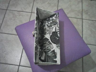 Artesanato, como fazer bolsa carteira feminina.