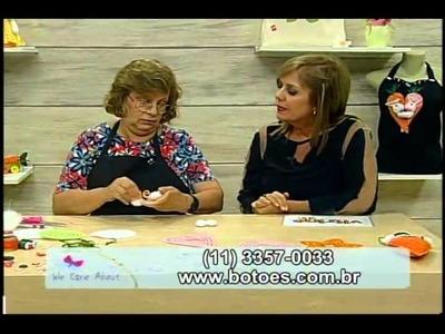 Cenourinha e coelho com Líliana Quintero - Vitrine do Artesanato na TV