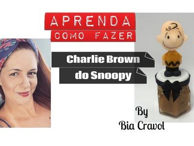 Charlie Brown do Snoopy - Biscuit - Bia Cravol - DIY