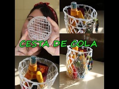 D.I.Y  - CESTA DE COLA QUENTE