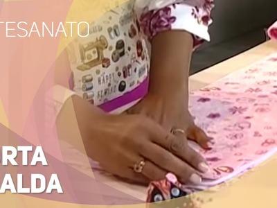 Dica de artesanato - Porta fralda (19.08.2014)