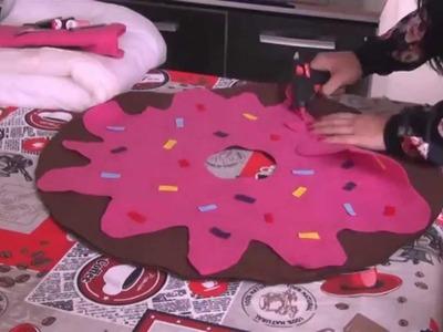 DIY: Almofada de Donuts