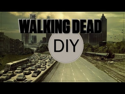 DIY: BLUSA The walking dead