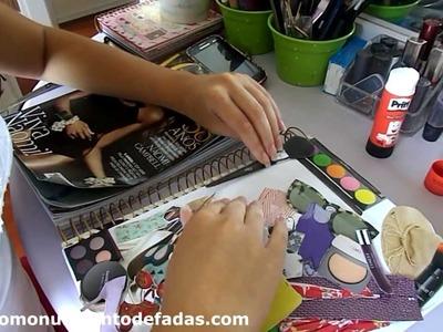DIY: Capa de Caderno personalizada (Volta às aulas