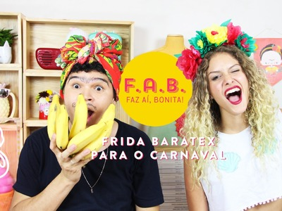 DIY CARNAVAL feat. Manu: Fantasia de Frida Kahlo Baratex