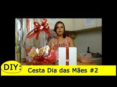 DIY: Cesta de Café da Manhã Dia das Mães - Parte #2