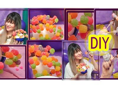 ✂DIY | Como Fazer Flores de Jujubas | Para Decoração da Mesa de Aniversário