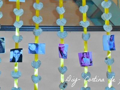 Diy- Cortina de fotos| Luisa Laranja