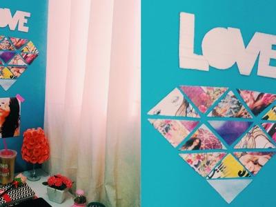 DIY decorando o quarto gastando pouco | VEDA#24