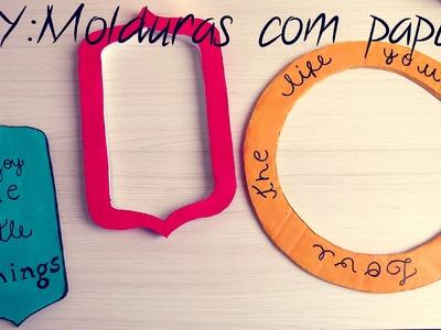 DIY(faça você mesmo): Molduras Vintage com Papelão #ysadecor
