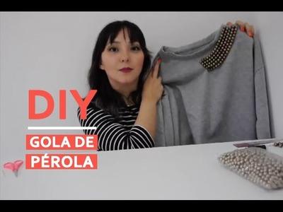 DIY - Gola de pérola