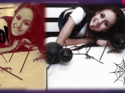 DIY ~ Não Complica ~ Aranha Halloween
