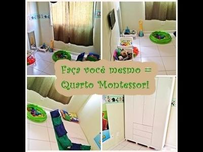 DIY: Quarto Montessoriano #Jovem&Mãe