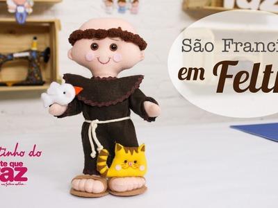 DIY - São Francisco em Feltro (Edilmara Santiago)