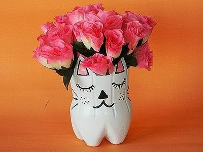 DIY : Vasinho de garrafa pet | Beauty Secrets ♥
