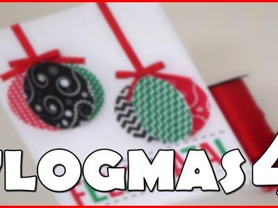 ❄ #VLOGMAS4 | DIY : Sugestão de presente - Cartão Presente Natalino