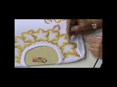 Acrilex - Artesanato - Camisetas com Dimensional Relevo 3D